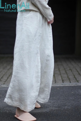 Ankle Length Linen Dress