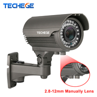 Techege 1920 1080P Full HD 2 0MP Camera 48V P2P ONVIF IP66 Waterproof Outdoor IR CUT