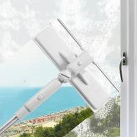 Telescópica de alta elevação limpeza de vidro esponja mop multi limpador escova de lavar janelas poeira escova de limpeza fácil ferramentas de limpeza|Limpadores de janelas magnéticas| |  -