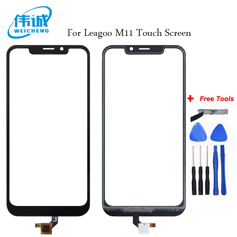 WEICHENG For Leagoo M11 Touch Screen 100% New Digitizer Touch Glass Panel Replacement For Leagoo M 11 Smart PhoneWEICHENG For Leagoo M11 Touch Screen 100% New Digitizer Touch Glass Panel Replacement For Leagoo M 11 Smart Phone