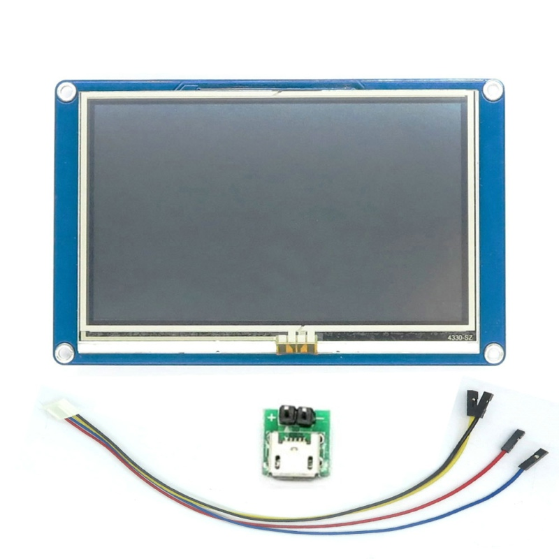 English Version Nextion 4 3 TFT Touch Screen Display 480x272 HMI LCD Module Touch Panel for