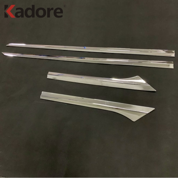 US $33 61 18% OFF|For Toyota Corolla 2019 Hatchback ABS Chrome Side Door  Body Molding Line Cover Trim Protector Decoration Exterior Accessories-in