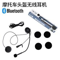 Kask niebieski ząb kask głośnik kask słuchawki
