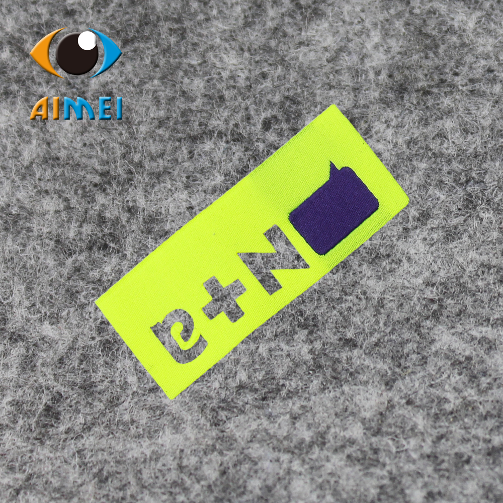 Free Design & Free Shipping Customized 200pcs/lot Casual Women or men clothing labels / woven labels/ main labels PJ005