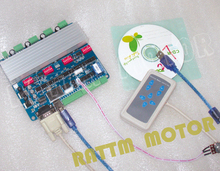 4 Ejes USBCNC con tarjeta driver controlador de mano CNC placa controladora CNC máquina para RATTM MOTOR