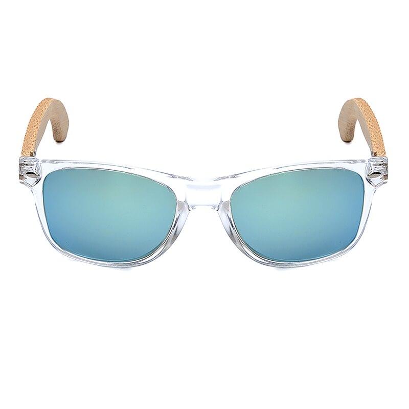 Image 2 - BOBO BIRD Handmade Polarized Sunglasses Women Men With Colorful Lens Transparent Plastic Frame Bamboo Legs Fashion Gifts CG008polarized sunglasses womenpolarized sunglassesf sunglasses -