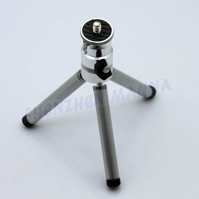 FREE SHIPPING 060B Photo Studio Travel Size Table Top Mini Tripod Stand For Canon Sony Nikon Camera adjustable Legs 1PC #EC063