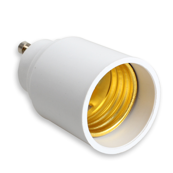 GU10 to E27 Adapter Base LED Light Lampbase Bulbs Adapter Adaptor Socket Converter --M25