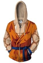 Dragon Ball Z Zip Up Hoodie