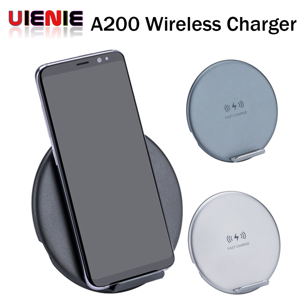 for samsung s9 s8 s7 fast wireless charger 10w qi certified wireless charging pad for iphone x 8. Black Bedroom Furniture Sets. Home Design Ideas