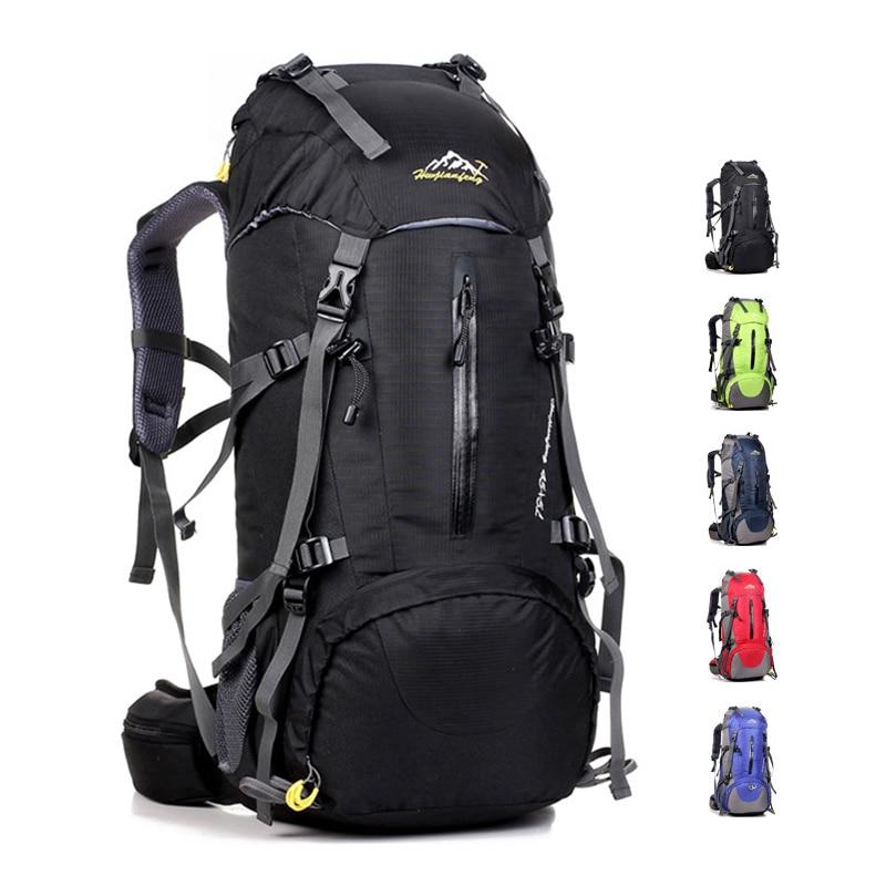 edb1758123 Voyage imperméable de randonnée sac à dos 50L, sac de sport pour les ...