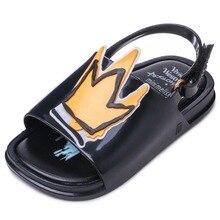 Memon Summer Style Kids Sandal Fashion Flower Grils Shoes Soft Leather Flat Heel Chica Sandalias for Baby Children