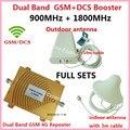 GSM Repetidor 4G DCS 1800MHz + 2G GSM 900Mhz Dual Band Mobile Phone Signal Booster GSM DCS Celullar Signal Repeater Amplifier