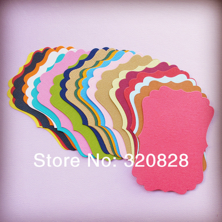 Buy Paper Tag Blank Colorful