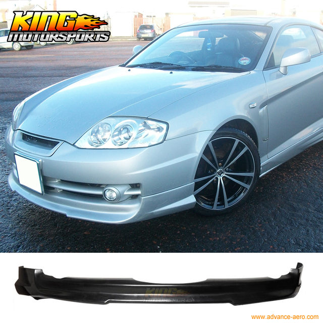 Fit For 03 04 Hyundai Tiburon 2dr Coupe V Style Front
