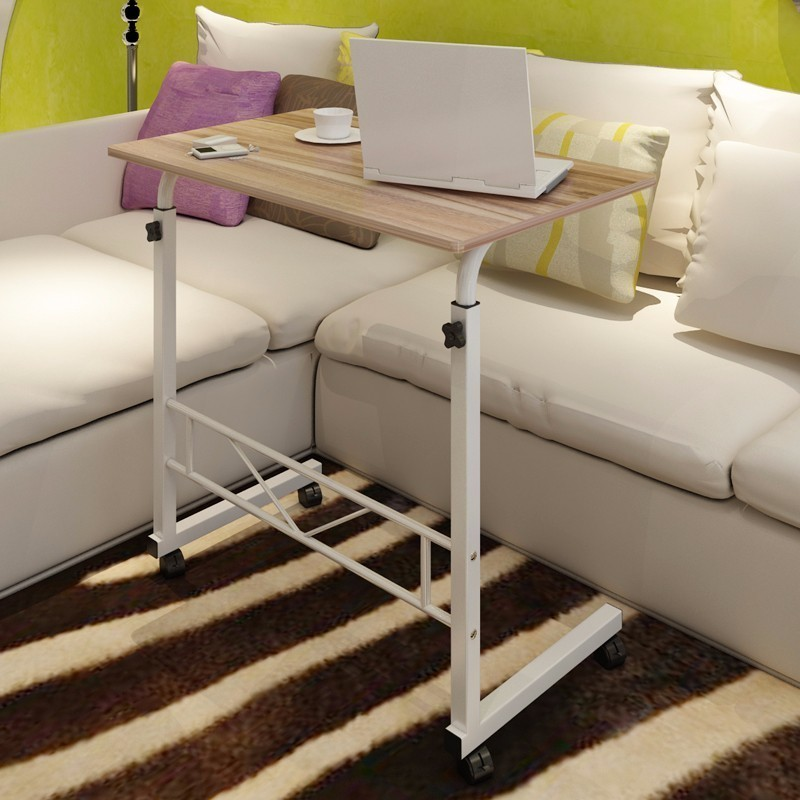 BSDT Autumn Yan simple lifting on to use mobile notebook comter desk bed lazy table FREE SHIPPING high quality simple notebook computer desk household bed table mobile lifting lazy bedside table office desk free shipping
