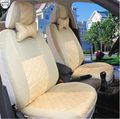 2 front seats Univeraal car seat cover for Dacia LOGAN DOKKER DUSTER SANDERO LODGY car accessories car sticker