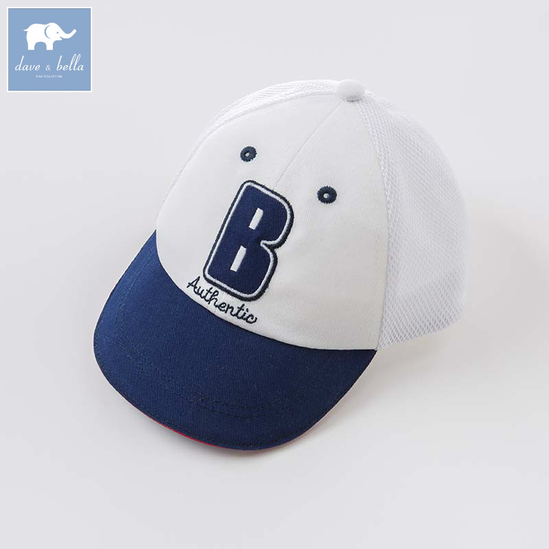 DB8294 dave bella summer baby boys Baseball cap children handsome hat kids sport wear capDB8294 dave bella summer baby boys Baseball cap children handsome hat kids sport wear cap