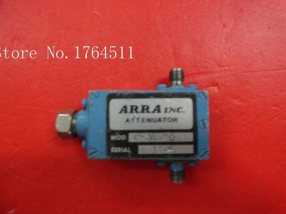 [BELLA] ARRA 9804-20 8-18GHZ 20dB Hand Adjustable Continuation Adjustable Attenuator