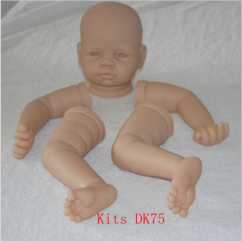 Reborn Doll Kits for 22inches Soft Vinyl Reborn Baby Dolls Accessories for DIY Realistic Toys for DIY Reborn Dolls Kits dk-75 good price reborn baby doll kits for 17 baby doll made by soft vinyl real touch 3 4 limbs unpainted blank doll diy reborn doll