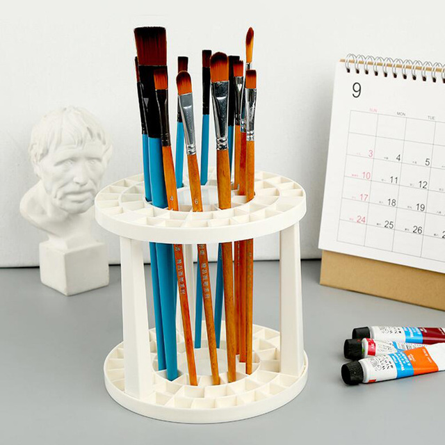 Paint By Numbers Arts Brush Holder Desk Top Tidy