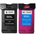 Compatible for HP 60 Ink Cartridge For HP Deskjet F2410 F2430 F2480 F4210 F4235 F4240 F4260 F4280  Ink Jet Printer