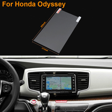Car Styling 9 Inch GPS Navigation Screen Steel Protective Film For Honda Odyssey Control of LCD Screen Car Sticker