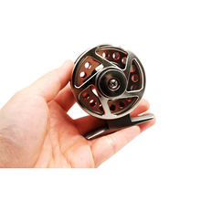 цена на Metal 4000,5000,6000 Ice Fishing Mini Wheel Ultra-light Left/Right Handle 3BB Reel Hard Freshwater Seawater Fishing Reel