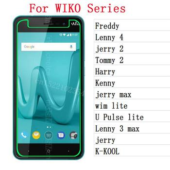 Tempered Glass For Wiko Freddy Lenny 4 3 max jerry max Tommy 2 Harry Kenny wim lite U Pulse lite K-KOOL jerry Screen Protector 4 image