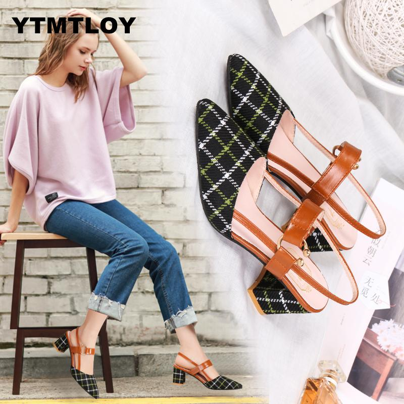 Lady Shoes New Hollow Coarse Sandals High-heeled Shallow Mouth Pointed Pumps Work Women Female Sexy High Heels Zapatilla LatticeLady Shoes New Hollow Coarse Sandals High-heeled Shallow Mouth Pointed Pumps Work Women Female Sexy High Heels Zapatilla Lattice