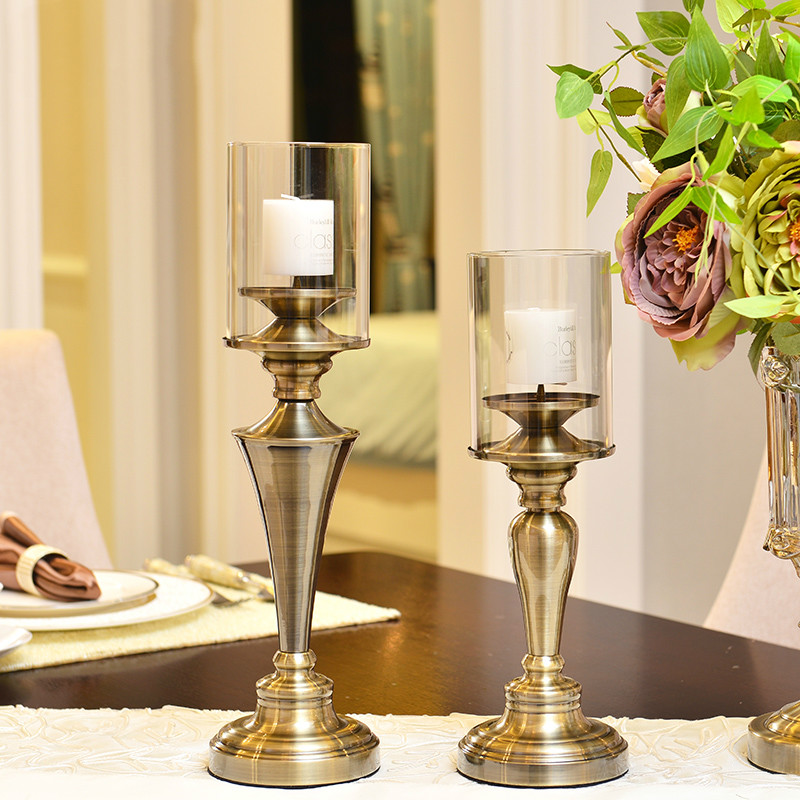 Classical Candlestick Table RomanticWedding Candle Holders ...