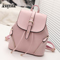 New Fashion Women Leather Backpacks Waterproof Ladies Cute Shoulder Backpack School Bag For Teenage Girls Satchel Bookbag