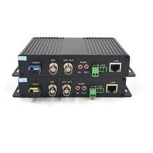 Высокое качество HD SDI видео аудио данных Ethernet 1310/1550 волоконно-оптические медаи-конверторы Tx и Rx для HD SDI CCTV