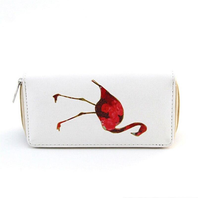 Womens Wallets Hummingbird Blossom Dragonfly Leather Passport Wallet Coin Purse Girls Handbags