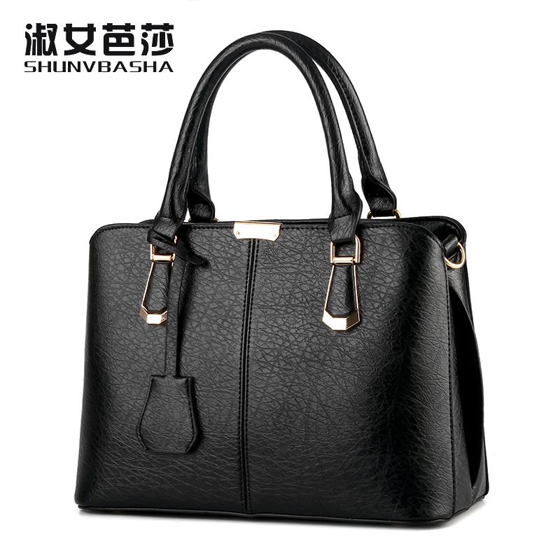Prix pour SNBS 100% Véritable cuir Femmes sacs à main 2017 Nouvelle Femelle Coréenne stéréotypes modèles sacs à main épaule sac Messenger