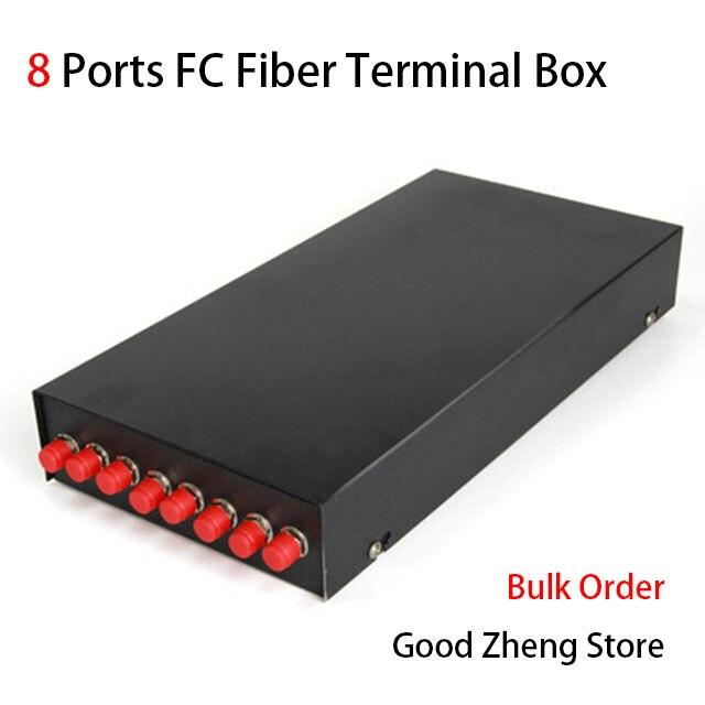 8 Порты FC волоконно-оптический коробка оптического волокна соединительной коробке волоконно-оптической распределительной с fc патч-корды