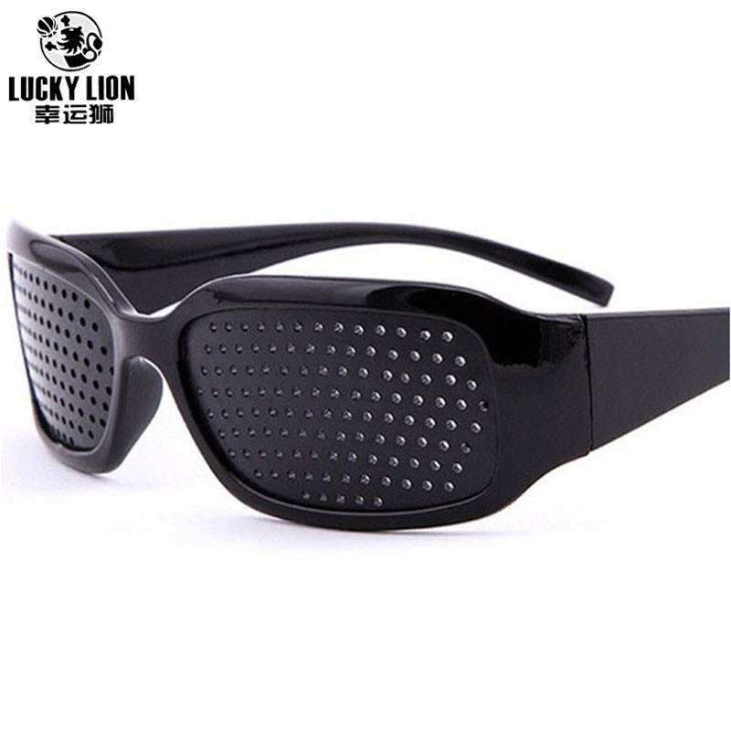 Black Hole Sunglasses Anti Fatigue Vision Care Pin Hole