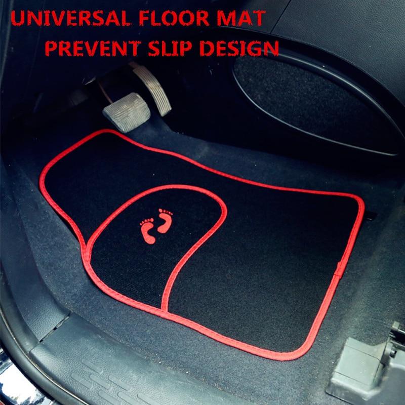 CAR ACCESSORIES ,CAR INTERIOR FLOOR MAT , UNIVERSAL FLOOR PAD , PREVENT SLIP