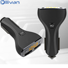 Ollivan 5V 2.4A C30 Car Charger Redmi Automotive FM Transmitter Dual USB Bluetooth Hands-free Phones MP3 Player Auto Accessories