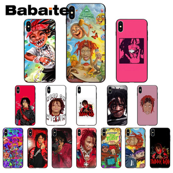 for iphone 11promax Trippie redd Lifes a trip Soft silicone Phone case Cover for iphone X XS MAX 8 7plus 5S SE 6s XR Cover funda image