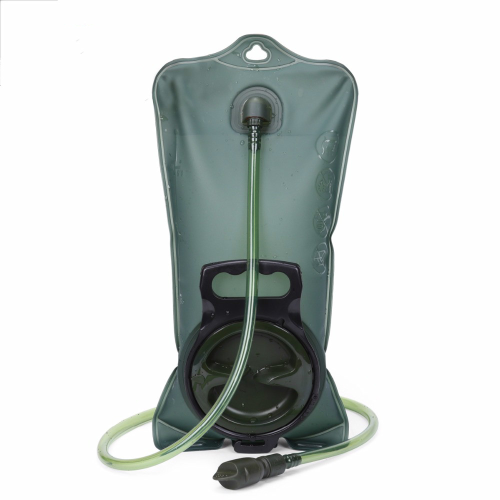 Image 2 - 2L/3L Water Bag Military TPU Hydration Bladder Camping Hiking Climbing Bicycle Outdoor Sport Gear Accessories-in Water Bags from Sports & Entertainment