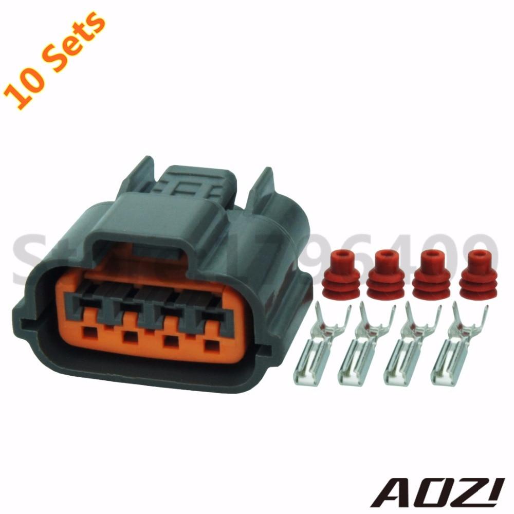 10 Sets Kit Automotive Harness Connector Oxygen sensor Plug ...