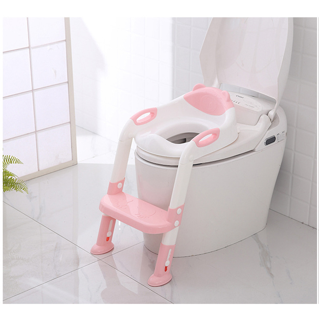 Chair-Seat Folding Travel Baby Portable Children With Ladder Potty Toilet-Ring Outdoor