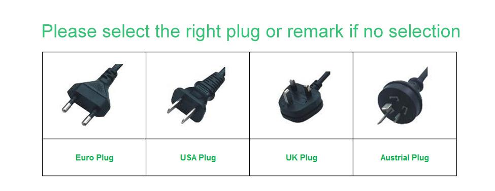 Plug selection