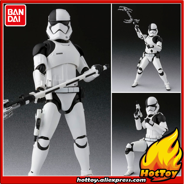 100% Original BANDAI Tamashii Nations S.H.Figuarts (SHF) Action Figure - First Order Executioner from Star Wars: The Last Jedi original bandai tamashii nations s h figuarts shf action figure battle droid from star wars episode i the phantom menace