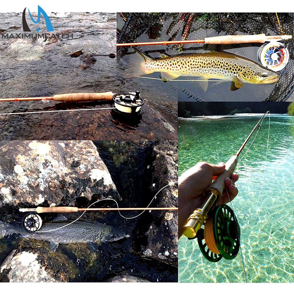 Maximumcatch Fly Rod IM12 40T + 46T Toray Karbon Super İşıq - Balıqçılıq - Fotoqrafiya 6