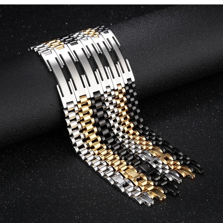Купить модный браслет из нержавеющей стали для мужчин и женщин спортивные