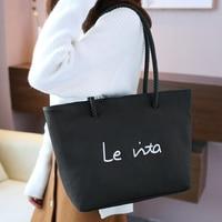 Simple Shoulder Bag Ladies Big Bag Europe And The United States Large Capacity Handbags Handbags Support Bulk Custom LoGo