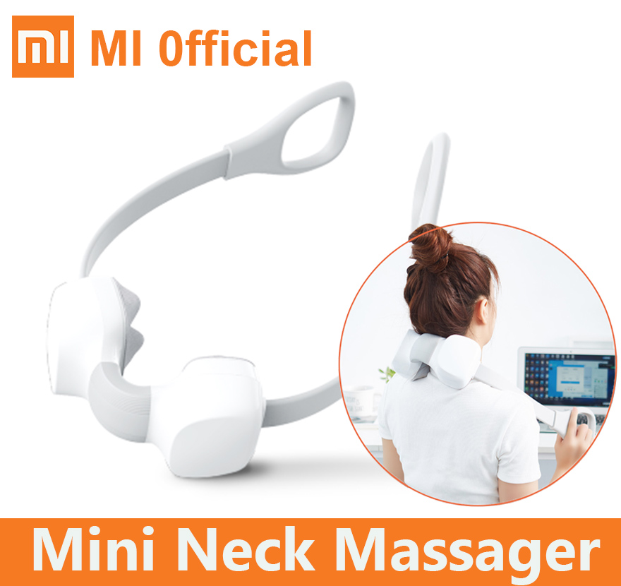 Xiaomi mini neck massager Shiatsu Two way kneading type c Charging body massager electric switching relax