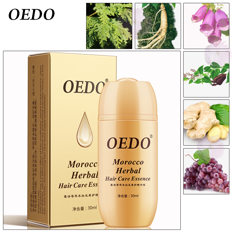 30ML Moroccan Hair Loss Treatment Ginseng Ginger Hair Growth Oil Herbal For Dry Hair Care Types Scalp Herbal Treatment Essence 4